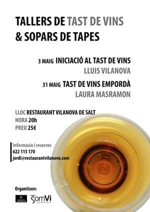Tast de vins & Sopar de tapes