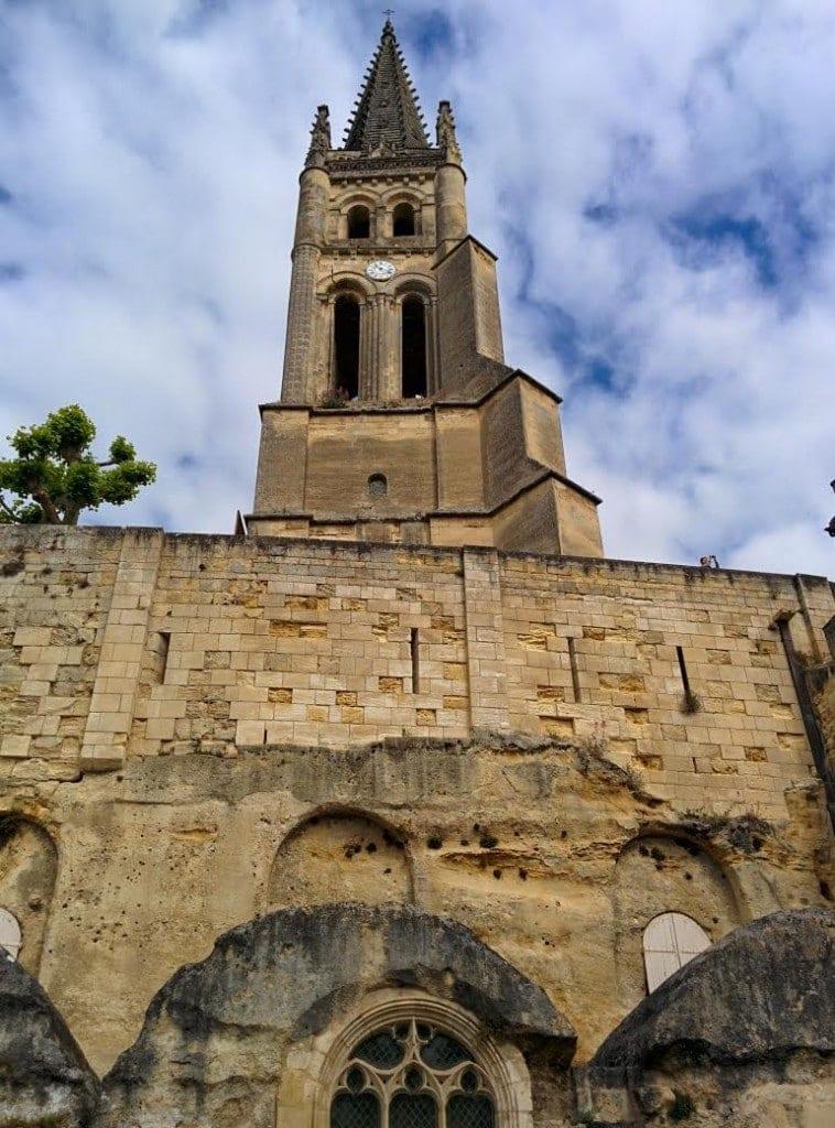 Església monolítica Saint-Émilion