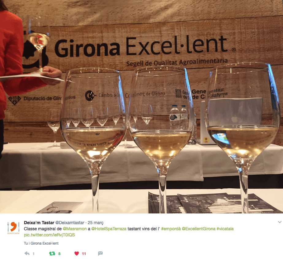 Tast de vins Girona Excel·lent