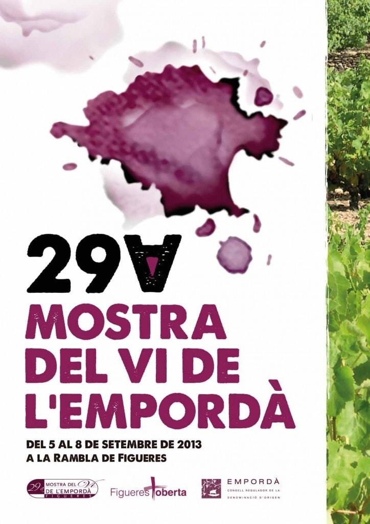 Cartell 29a Mostra del Vi de 2013