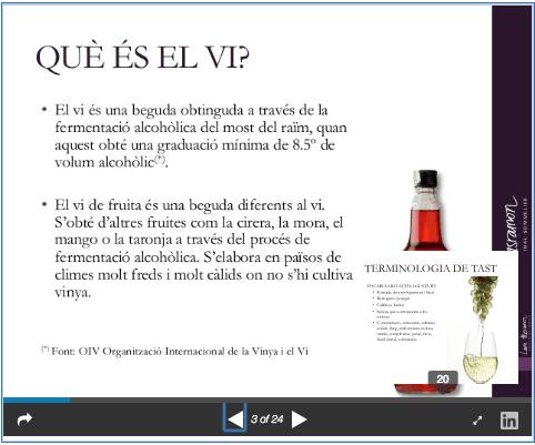 PPT Iniciació al tast de vins