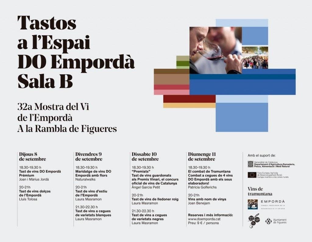 Tastos 32 Mostra de vins Empordà