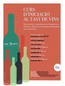 Curs d'iniciació al tast de vins a Girona