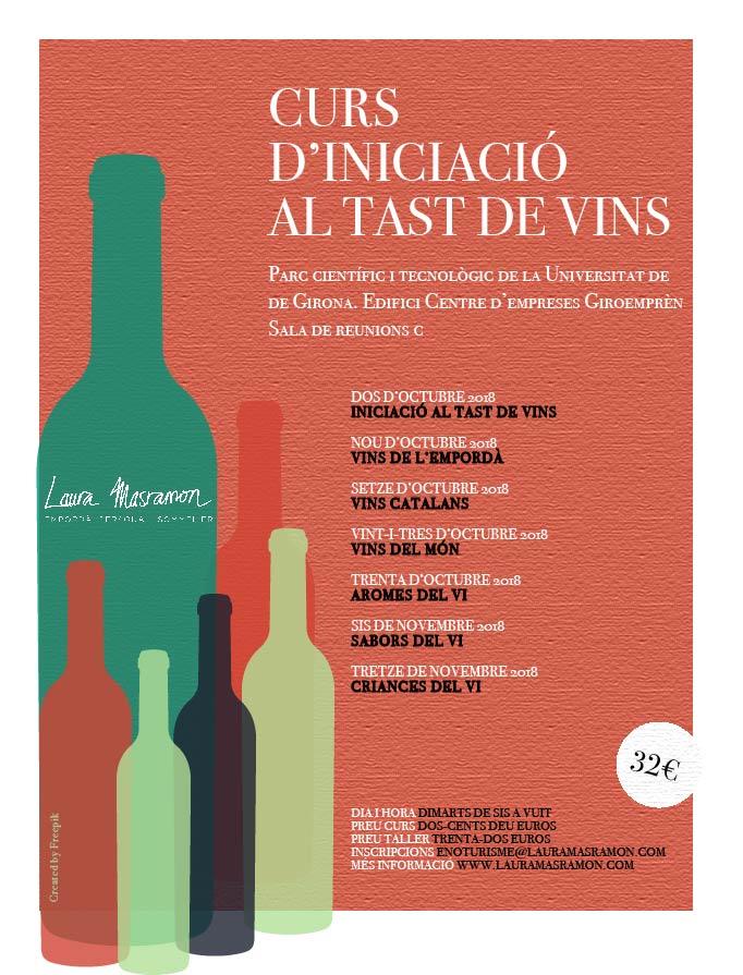 curs de tast Girona 2018