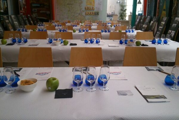 Sala de tast d'olis d'oliva
