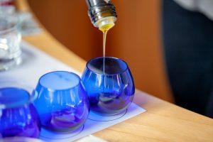 Tast d'olis d'oliva verge extra