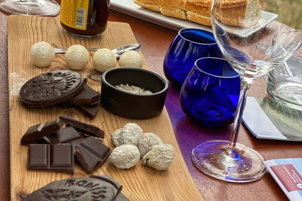 Vins, olis d'oliva i xocolata